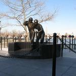 Hoboken WWII Memorial, 4th Street and Frank Sinatra Drive, Hoboken